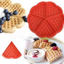 Silicone Waffle Mold Kitchen Bakeware Cake Mould  Makers Chocolate Nonstick Baking Accessories