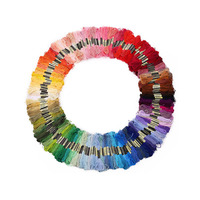 447 Colors Embroidery Thread Floss Yarn Hand Cross Stitch Sewing Skeins Craft DIY Handmade Accessories