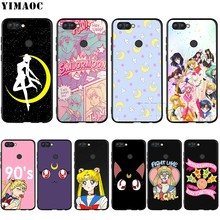 YIMAOC Sailor Moon Silicone Case for Huawei Mate 10 P8 P9 P10 P20 Lite Pro P Y7 Y9 Smart Mini 2017 2018(China)