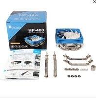for HP 400 4 heat pipe ultra thin CPU radiator for 775 1151AMD1150 1155CPU fan mini case cpu cooler