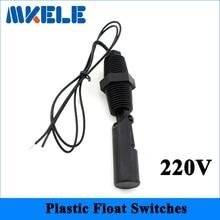 220V MK-PCFS3 PP Side Mount Horizontal Float Switch/Water Level Sensor Controller/Inductance Sensor