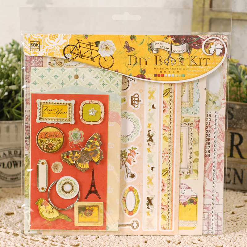 Handmade paper craft material set to DIY Handmade Korea ...