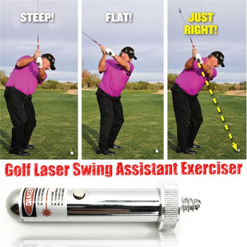Golf Swing Corrector Golf Swing Plane Training Aid Golf Pointer Spot Direction Sight Golf Swing Training Aid Flat Concealer