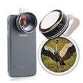 Ojo de Pez Universal 7x Zoom Óptico Lente ojo de Pez Foto Kit conjunto óptico lente de la cámara para el iphone samsung galaxy lenovo jt28 7x