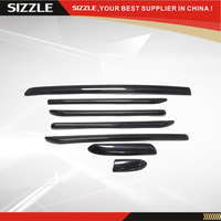 Add On Carbon Fiber Interiors Trim Cover For Audi A3 S3 2014 2015 2016 Left Hand Drive Only