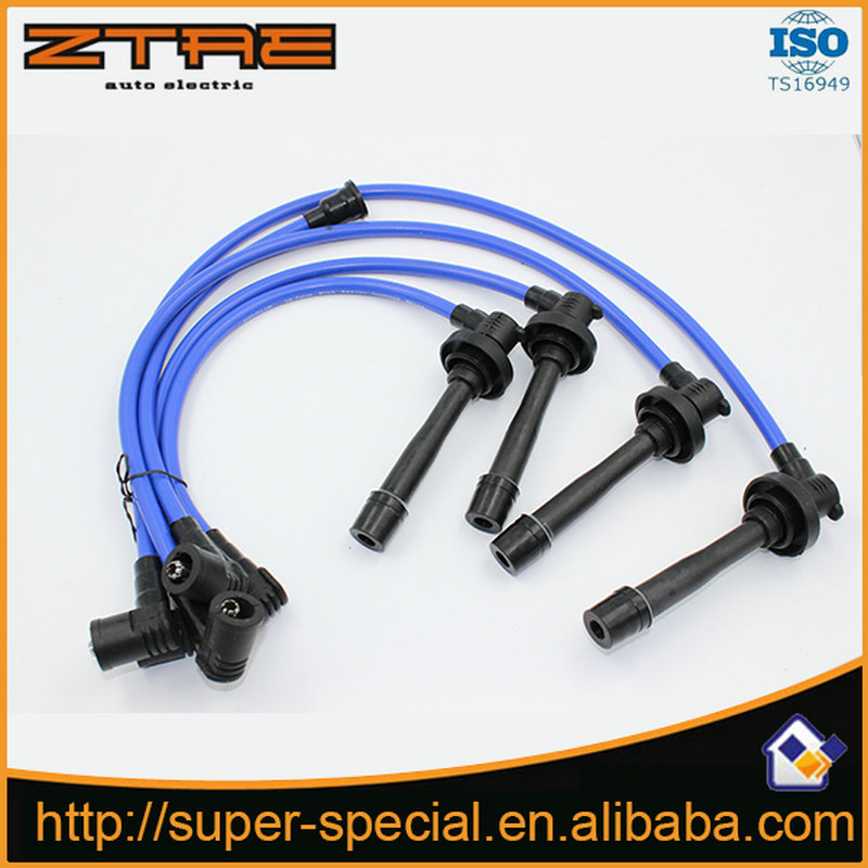 racing spark plug wire for 1990 2002 honda accord l4 lx dx ... 1990 honda accord spark plug wiring diagram #14