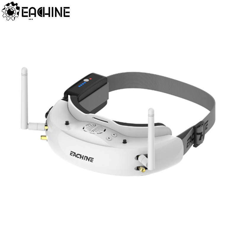 Eachine EV200D 1280*720 5.8g 72CH True Diversity FPV Occhiali HD Porta in 2D/3D Built-In DVR