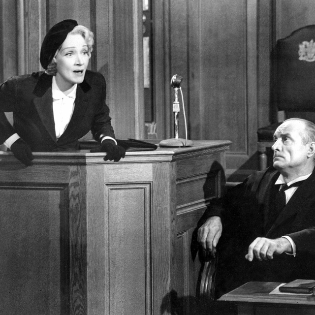 Witness For The Prosecution Marlene Dietrich 1957 Photo Print (28 x 22)
