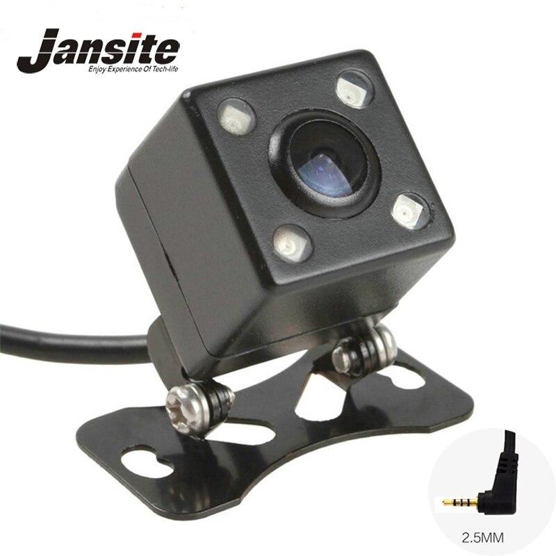 Nacht Vision 4 Led Lampen Reverse Kamera HD CDD Rückansicht Camara Objektiv 2,5mm Jack Mit 6 Gehrungen Kabel für Auto Dvr Spiegel Recorder