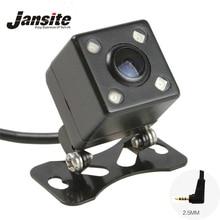 Night Vision 4 Led Lâmpadas de Visão Traseira Câmera Reversa HD CDD Camara lente de 2.5mm Jack Com Cabo Para O Carro Espelho Dvr Gravadores de 6 Mitras