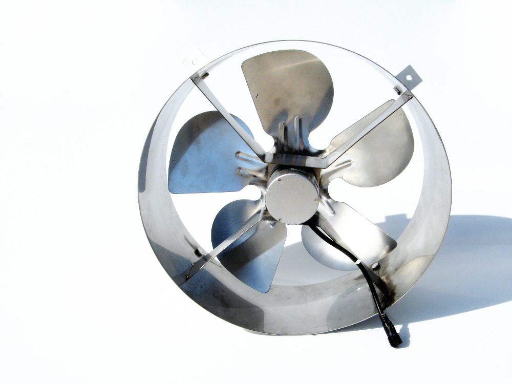 how to make a solar powered attic fan
