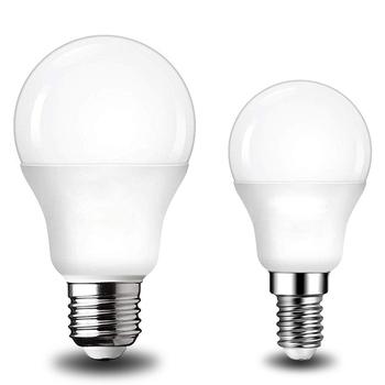 LED E14 LED lampa E27 LED żarówka AC 220V 230V 240V 20W 18W 15W 12W 9W 6W 3W Lampada reflektory LED lampa stołowa lampy światła tanie i dobre opinie ANNUOSENCHIP Żarówki led 120 ° Epistar Zimny biały (5500-7000 k) 50000 Globe ROHS Bubble ball żarówki 1 15mm 2835