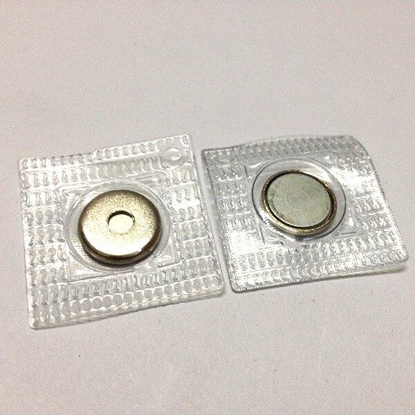 50 шт скрытые магнитные кнопки с ПВХ в 14 мм