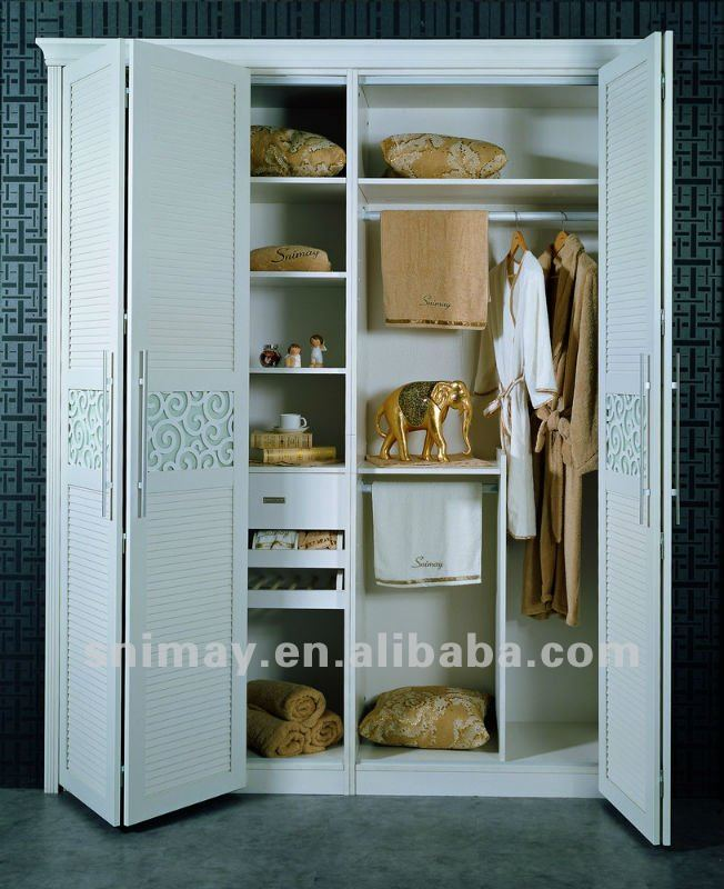 SNF50062 Wooden Almirah Designs-in Wardrobes From