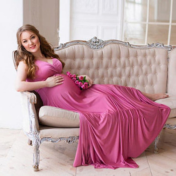 Elegant Pregnancy Dress Photography Gown Maternity Dresses For Photo Shoot Clothing For Pregnant Women Dresses Maternity Clothes photo shoot