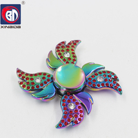 BD Four Wings Angel Hand Spinner Fidget Spinner Stress Cube Torqbar Hand Spinners Focus KeepToy And