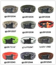 New Paracord Parachute Cord Military Survival Bracelet