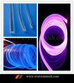 2mm led cabo de luz de fibra óptica brilho lado núcleo sólido