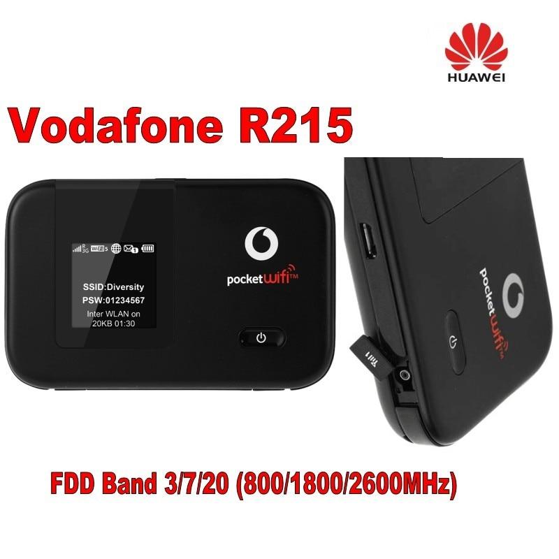 Huawei r215 lte 150mbps 4g žep wifi brezžični usmerjevalnik blagovna znamka novo in odklenjena hotspot mobilni širokopasovni plus 2pcs 4g antena