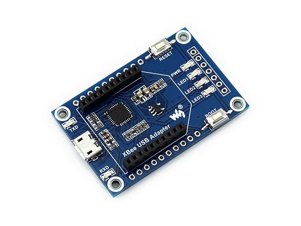 Waveshare XBee USB Adaptateur UART Communication Conseil Appuie XBee Connectivité USB à UART Module Configurer