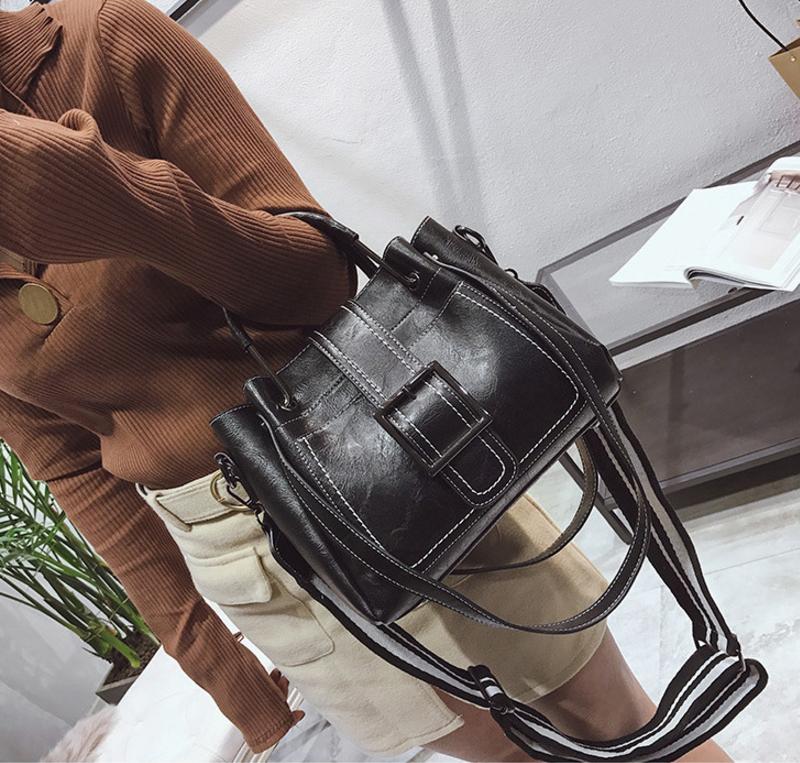New European and American style vintage PU women handbag shoulder bag messenger bag 88
