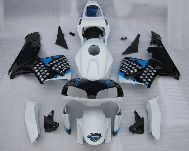 Motorcycle White+Black Fairing Kit For H O N D A CBR600RR CBR 600RR CBR600 RR 2003-2004 ABS Plastic +4 Gift