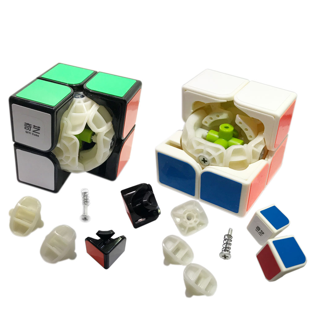 QiYi QiDi 2 Magic Cube Speed Cube ToyUltra-smooth Square Cube Puzzle Cubo Magico With Sticker Kids Learning Toys Birthday Gifts brand new dayan wheel of wisdom rotational twisty magic cube speed puzzle cubes toys for kid children