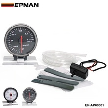 EPMAN - AP 60MM BOOST GAUGE ELECTTRO-LUMINESCENT / Auto Boost Gauge/ Boost meter original color box For Audi TT/S3 EP-AP60001(China)