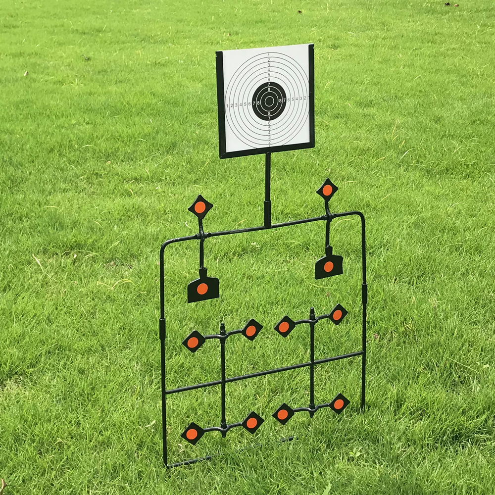 Shooting Paper Targets For Improving Hunting Shooting Tactical Skill