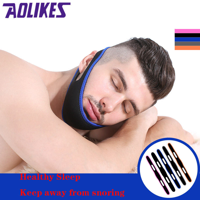 Snoring With Men And Women With Anti-snore Towing The Anti-snore Chin Chin Against The Dislocated Belt Free Shipping