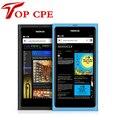 100% оригинал Nokia N9 Разблокирована сотовый Телефон Nokia N9-00 Lankku WIFI GPS 8MP 3 Г GSM MeeGo OS 16 ГБ гарантия 1 Год Падение доставка