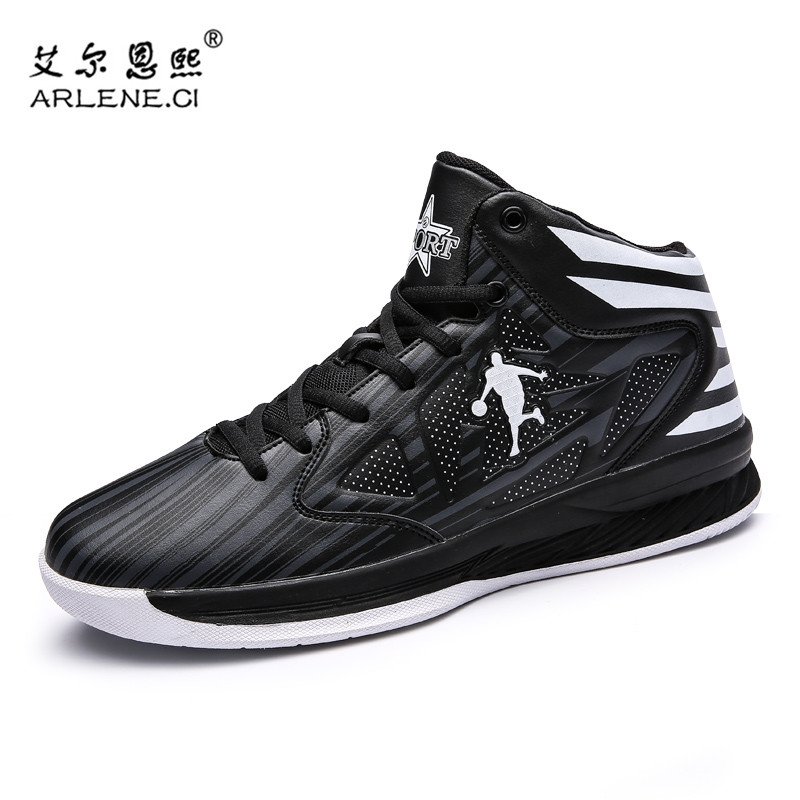 bas prix 5d460 99d78 US $22.59 35% OFF|Hot Sale Men Women Basketball Shoes Jordan Shoes Anti  slip Basketball Sneakers Femme Sport Shoes Basket Homme Plus Size 39 45-in  ...