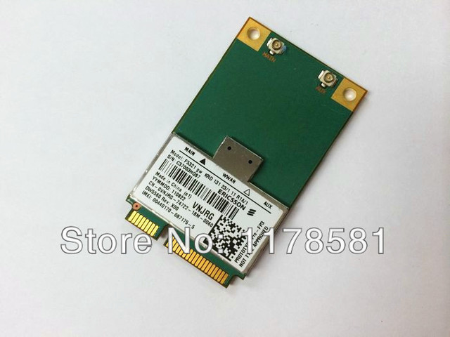 ERICSSON F5321gw Wireless DW5560 3G WWAN MINI PCI-E Card GSM GPRS EDGE UMTS WCDMA HSPA+21MB GPS Module For Dell Notebook Modem