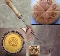 30cm Brand Handle For Burning Mold Stamp On Cake Cookie Sweets Personalized Iron Brass Mold Burning