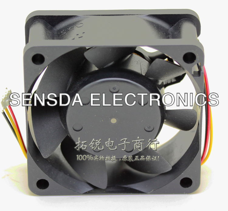 NIDEC D06T-24TH 6cm 60mm 6*6*2.5CM 60*60*25MM 24V 0.07A 6025 server inverter pc case cooling fan