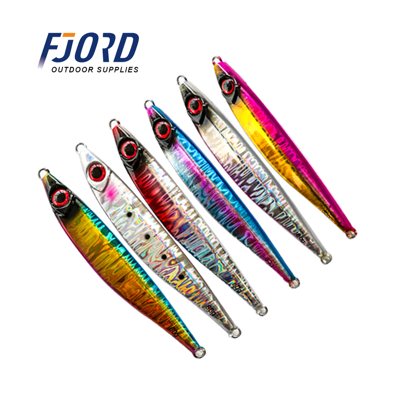 160g Flat 5.6oz Metal Fall Vertical Speed Jig butterfly Lure Anchovy Fish WOW