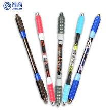 Дешевые Чжигао спиннинг ручка для школьные принадлежности шариковая ручка стационарные маркеры, ручки повернуть для прокрутки многофункциональная ручка с синими чернилами