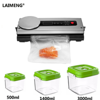 LAIMENG Best Vacuum Food Sealer With Large Capacity Vacuum Cansiter Stable Coffee Sugar Jar With Hose Accessory S147