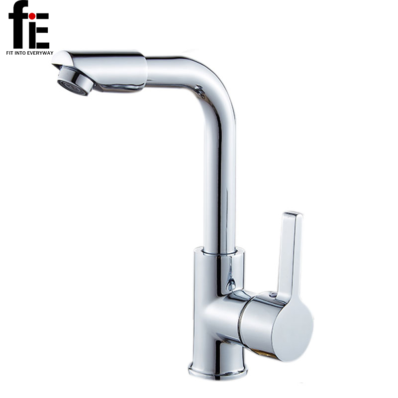 FiE Bathroom Faucets Mixer 360 Degree Swivel Easy Wash For Basin Sink And Kitchen Faucet(China)