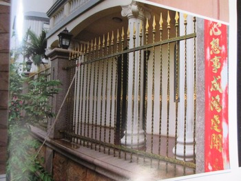 Wrought iron fencing Images for wrought iron fence designs Elegant Wrought Iron Fence Ideas