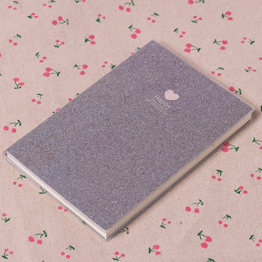 Planner Fashion Love Gift Papery Notebook Diary School Supplies Notepad Shining Agenda