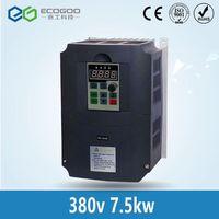 7.5KW 380VAC переменной частоты 3 фазы VFD инвертор 17A 400 Гц шпинделя двигатель скорость контроллер частоты Conveter