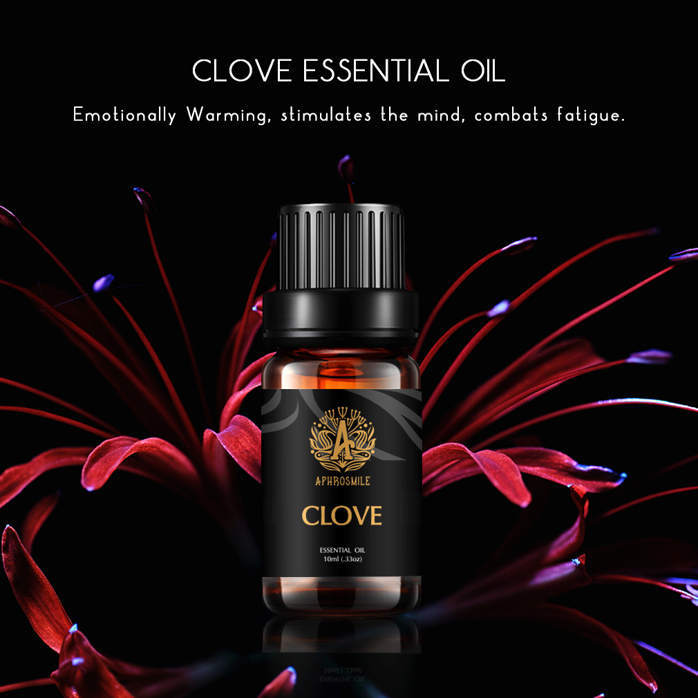 Free Shipping Clove Essential Oil 10ml Moisturizing Skin Care Oil Improve Rough Skin Relieve Pain Massage Oil Clove Oil