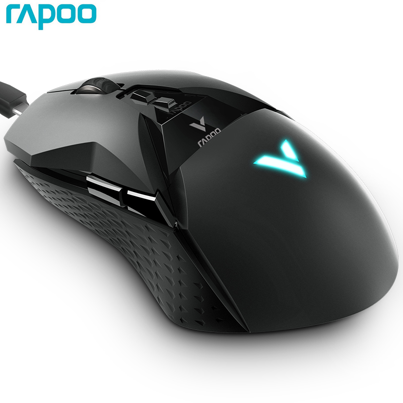 Rapoo VT950 Gaming Mouse 2.4G Wireless RGB OLED Display 11 Customizable Buttons 16000DPI For PUBG LOL FPS Dota 2 Computer Gamer