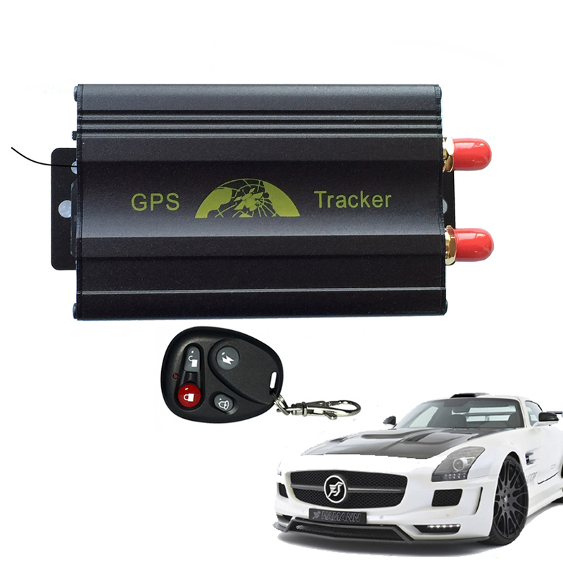 Spy Car Vehicle Realtime GPS GMS GPRS SMS Tracker Tracking System Device TK103B