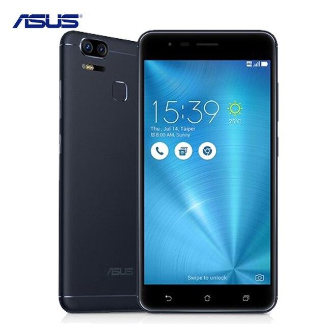 Asus zenfone 3 зум ze553kl отпечатков пальцев android 6.0 qualcomm snapdragon 625 octa 4 ГБ ram 128 ГБ rom 5.5 дюймов 5000 мАч смартфон