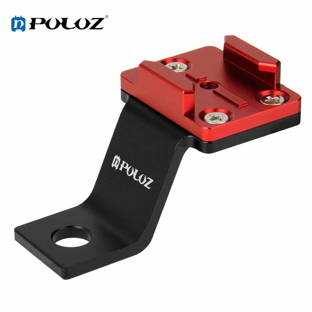 PULUZ портативный велосипедный кронштейн для камеры Hero 5 4 3 3 + 2 Xiaomi Yi аксессуары Спортивная Экшн-камера фиксированная рамка ударопрочный