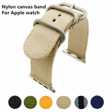 Sport Nylon New Design Watch Accessories Watchband For Apple Bands 42mm & Strap 38mm iWatch 3/2/1 Bracelet