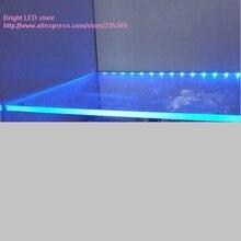 2 шт. x60см длина regid RGB или синий желтый цвет SMD светодиодный светильник для зажима 8 мм стекло или акрил светодиодные Алюминиевые полосы светильник шкаф