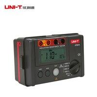UNI T 1000V Insulation Resistance Tester Megger Earth Ground Resistance Voltage Meter Alarm Buzzer Megohmmeter Voltmeter UT501A